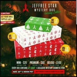 Jeffree Star 2019 Holiday Mystery Box *DELUXE* XL